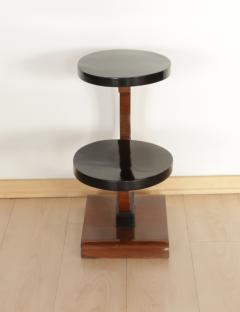 Art Deco Side Table Walnut Veneer France circa 1930 - 1074328