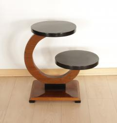 Art Deco Side Table Walnut Veneer France circa 1930 - 1074329