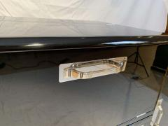 Art Deco Sideboard with Fold Up Bar Black Piano Lacquer England circa 1930s - 1808434