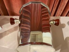 Art Deco Silver Champagne Bucket with Bakelite Handles - 1806999