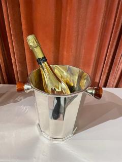 Art Deco Silver Champagne Bucket with Bakelite Handles - 1807000