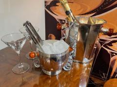 Art Deco Silver Champagne Bucket with Bakelite Handles - 1807001