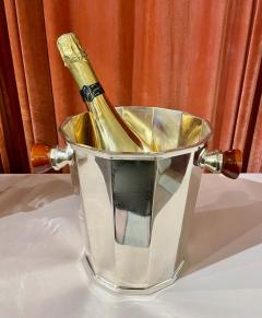 Art Deco Silver Champagne Bucket with Bakelite Handles - 1807002