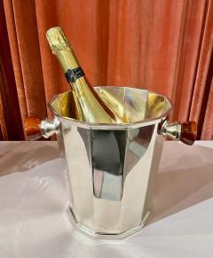 Art Deco Silver Champagne Bucket with Bakelite Handles - 1807015