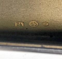 Art Deco Silver Cigarette Case Box Estonia C 1925  - 1435732