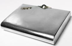 Art Deco Silver Cigarette Case Box Estonia C 1925  - 1435733