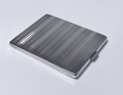 Art Deco Silver cigarette or card case Austria circa 1930  - 1718462