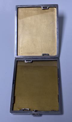 Art Deco Silver cigarette or card case Austria circa 1930  - 1718464