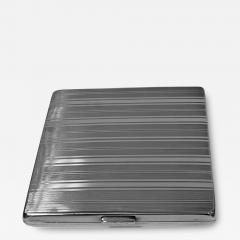 Art Deco Silver cigarette or card case Austria circa 1930  - 1719556