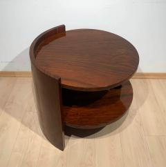 Art Deco Sofa or Side Table Walnut Veneer French Polish France circa 1930 - 2119037