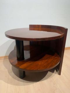 Art Deco Sofa or Side Table Walnut Veneer French Polish France circa 1930 - 2119040