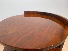 Art Deco Sofa or Side Table Walnut Veneer French Polish France circa 1930 - 2119043