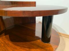 Art Deco Sofa or Side Table Walnut Veneer French Polish France circa 1930 - 2119044