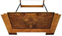 Art Deco Stylish 1930s Walnut Double Bed - 962132