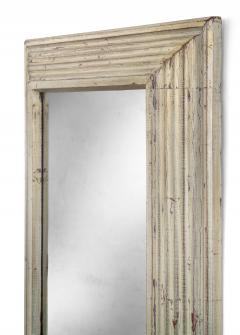Art Deco Swedish Silvered Wood Framed Mirror - 753846