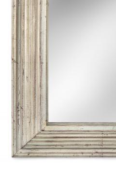 Art Deco Swedish Silvered Wood Framed Mirror - 753848