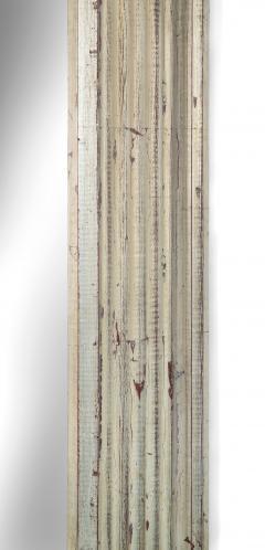 Art Deco Swedish Silvered Wood Framed Mirror - 753849