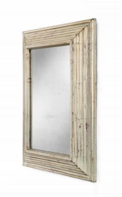Art Deco Swedish Silvered Wood Framed Mirror - 753850