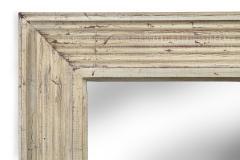 Art Deco Swedish Silvered Wood Framed Mirror - 753851