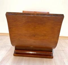 Art Deco Tabouret or Stool Lyre Shape Oak Veneered France circa 1930 - 1612294