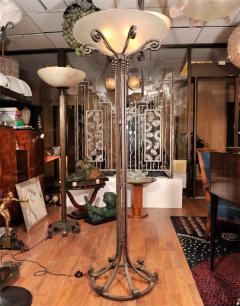 Art Deco Torche re signed Maison  - 1422657