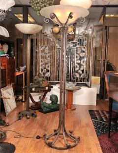 Art Deco Torche re signed Maison  - 1422658