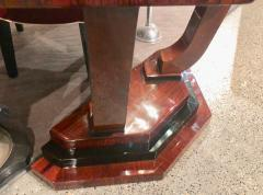 Art Deco Triangular Console with Ebony Accents - 1352523