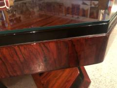 Art Deco Triangular Console with Ebony Accents - 1352524