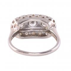 Art Deco VS Diamond White Gold Ring - 2074833
