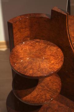 Art Deco Vanity Table Amboyna Roots France circa 1925 - 1017219