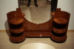 Art Deco Vanity Table Amboyna Roots France circa 1925 - 1017221