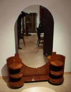 Art Deco Vanity Table Amboyna Roots France circa 1925 - 1017223
