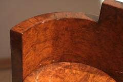 Art Deco Vanity Table Amboyna Roots France circa 1925 - 1017225
