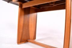 Art Deco Walnut Extending Dining Table - 1669629