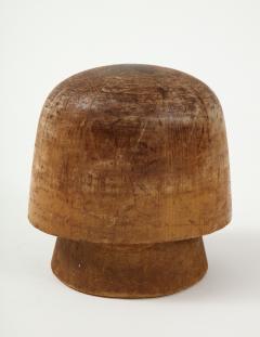 Art Deco Wooden Hat Form - 1502827