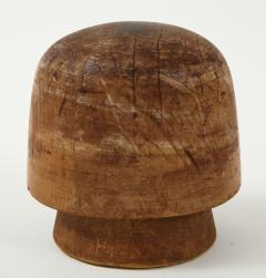 Art Deco Wooden Hat Form - 1502837