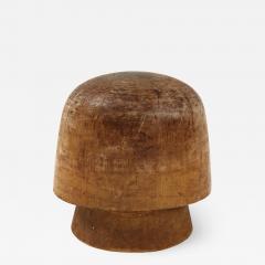 Art Deco Wooden Hat Form - 1505967