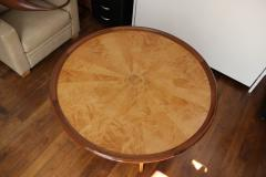 Art Deco pedestal table in sycamore France around 1950 - 1489933