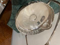 Art Nouveau Silver Basket Centerpiece - 1748945