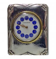Art Nouveau Silver Carriage Clock Birmingham 1911 - 1060875
