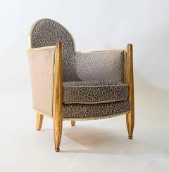 Art deco club chair attributed to Paul Follot - 1017980