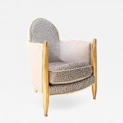 Art deco club chair attributed to Paul Follot - 1018548