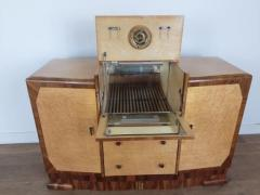 Art deco cocktail cabinet sideboard - 1942824