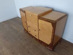 Art deco cocktail cabinet sideboard - 1942853