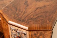 Art deco figured walnut sideboard - 2061550