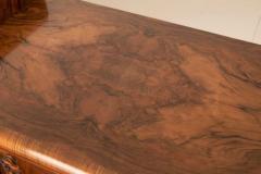 Art deco figured walnut sideboard - 2061551