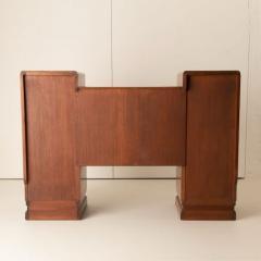Art deco figured walnut sideboard - 2061552