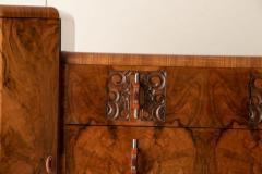 Art deco figured walnut sideboard - 2061553