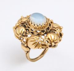 Art nouveau moonstone ring - 1747971