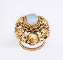 Art nouveau moonstone ring - 1747972